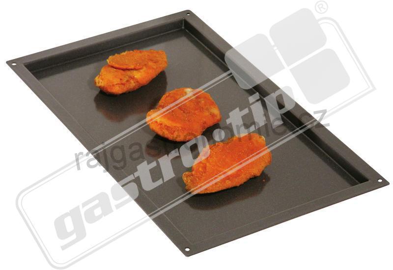Plechy RATIONAL granitem emailované 600X400 020