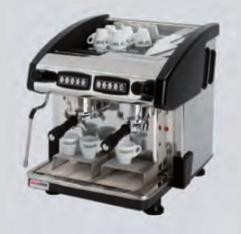 Kávovar dvoupákový - dřevo EMC 2P/W/C