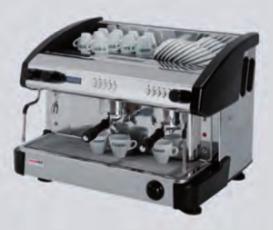 Kávovar dvoupákový - dřevo EC 2P/W/D/C
