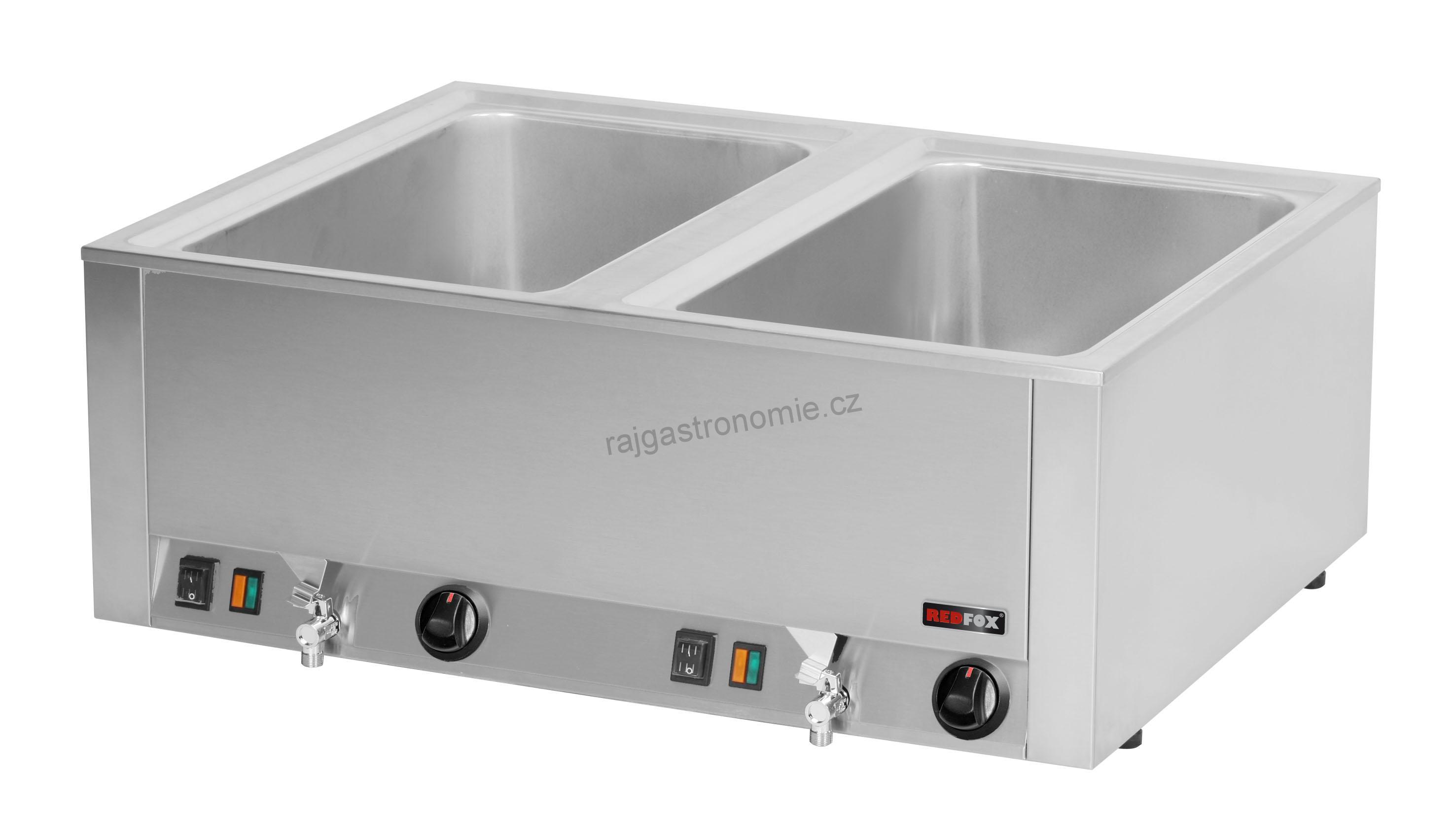 Vodní lázeň s výpustí 2x GN 1/1 BMV 2120