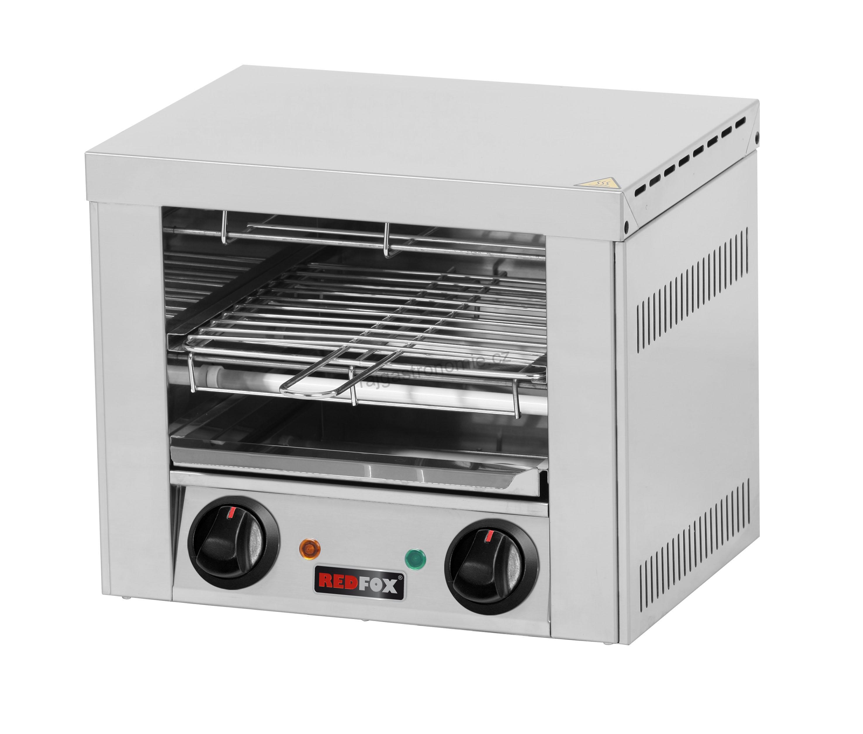 Toaster 2x kleště, rošt TO 920 GH