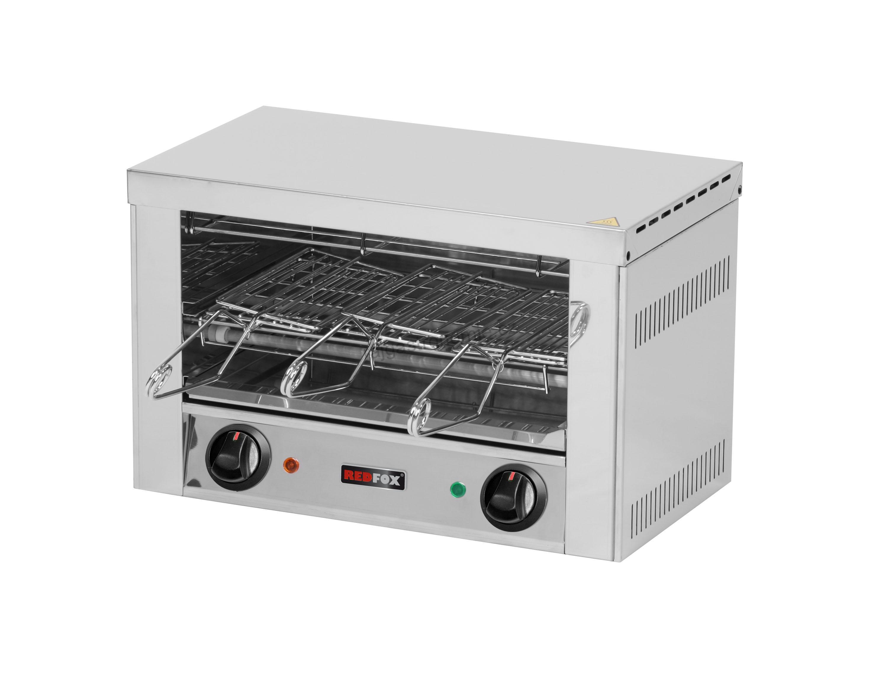Toaster 3x kleště, rošt TO 930 GH