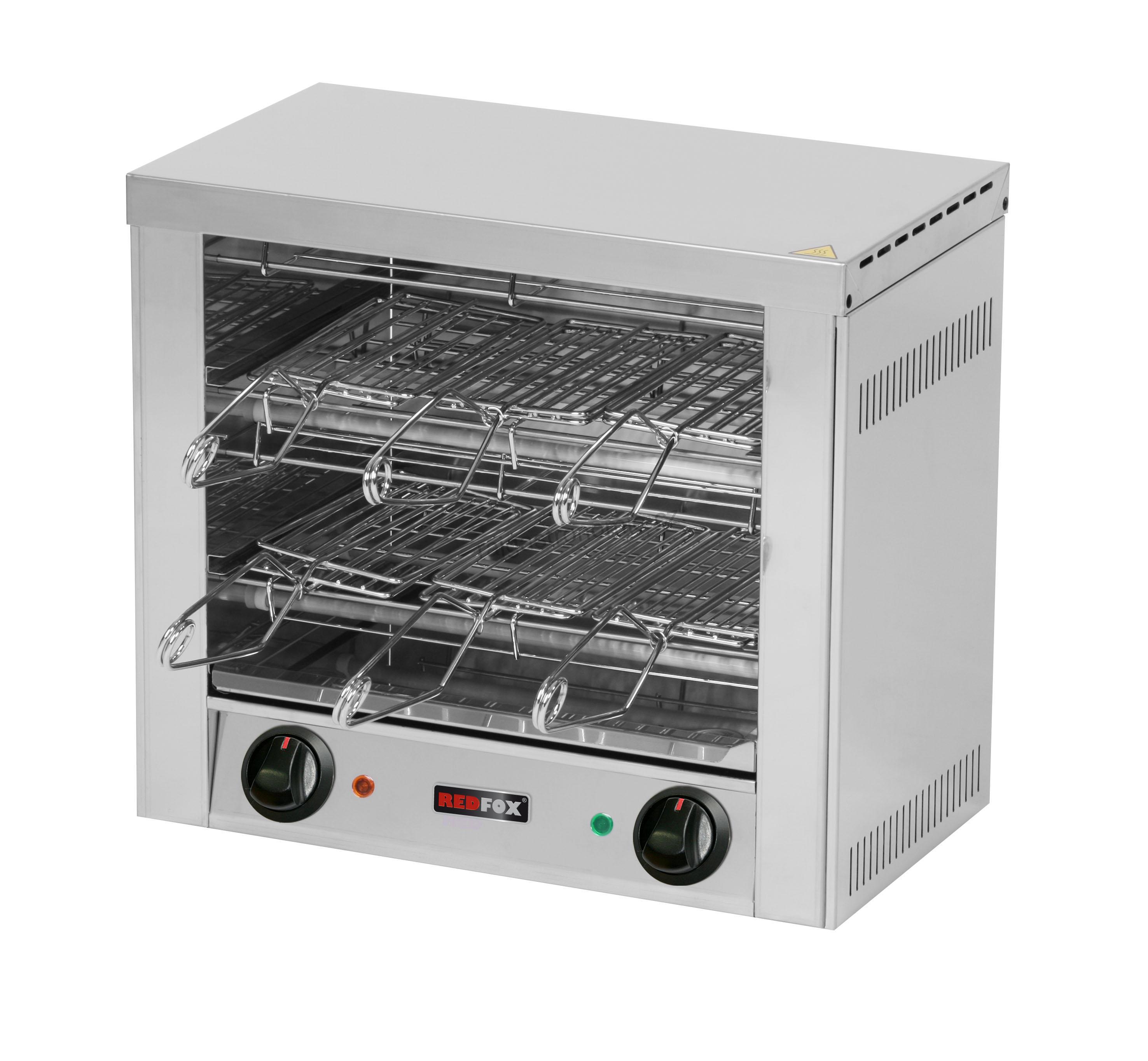 Toaster 6x kleště, rošt TO 960 GH