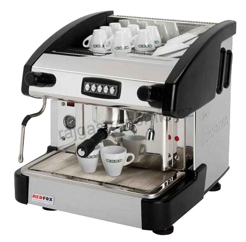 Kávovar jednopákový - černý EMC 1P/B/C