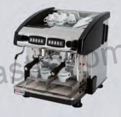 Kávovar dvoupákový - černý EMC 2P/B/C