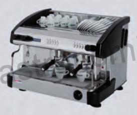 Kávovar dvoupákový - černý EC 2P/B/D/C